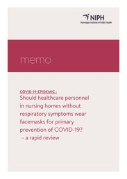 Forside omslag notat covid-19 face mask nursing homes _ENG.jpg