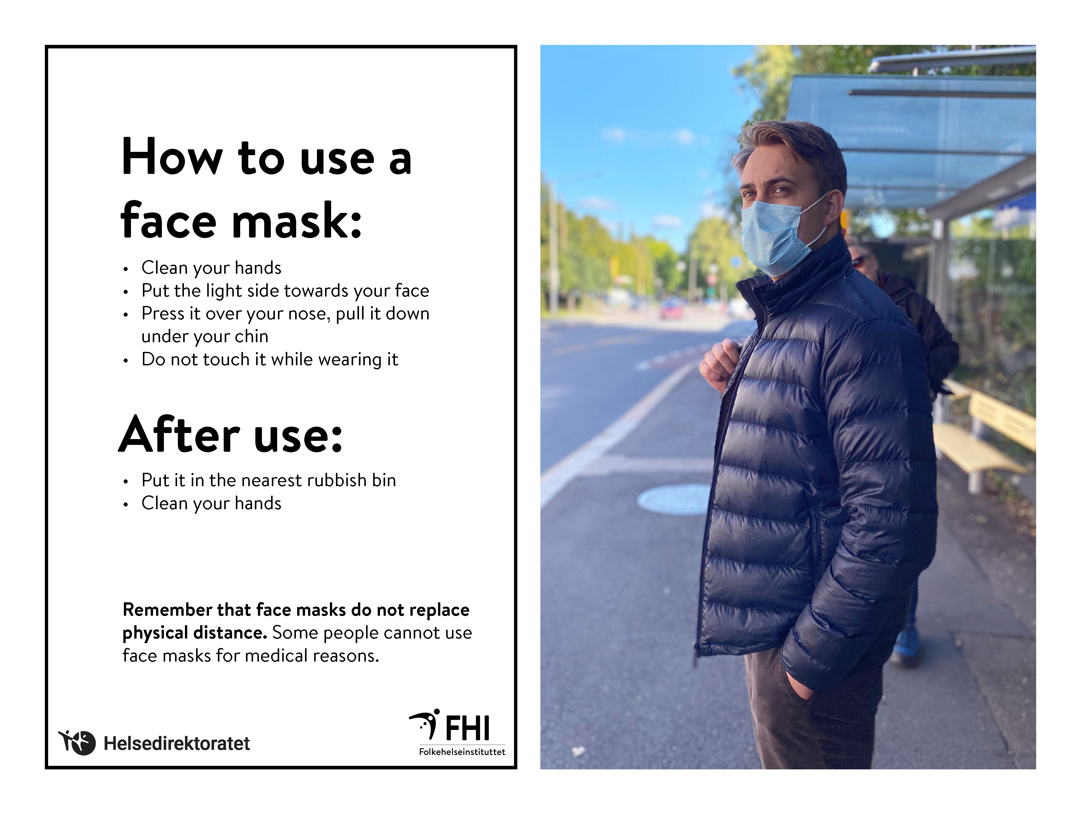 How To Use A Face Mask Niph
