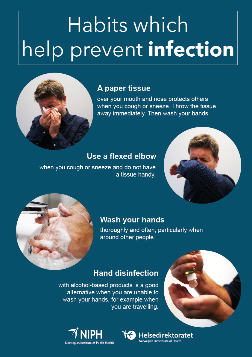 Habits That Help Prevent Infection Niph