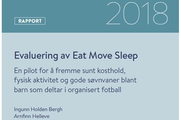 Forside rapporten Eat move sleep