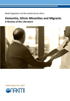 bilde av rapportforsiden Dementia, Ethnic Minorities and Migrants