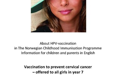 cover photo of hpv vaccine brochure
